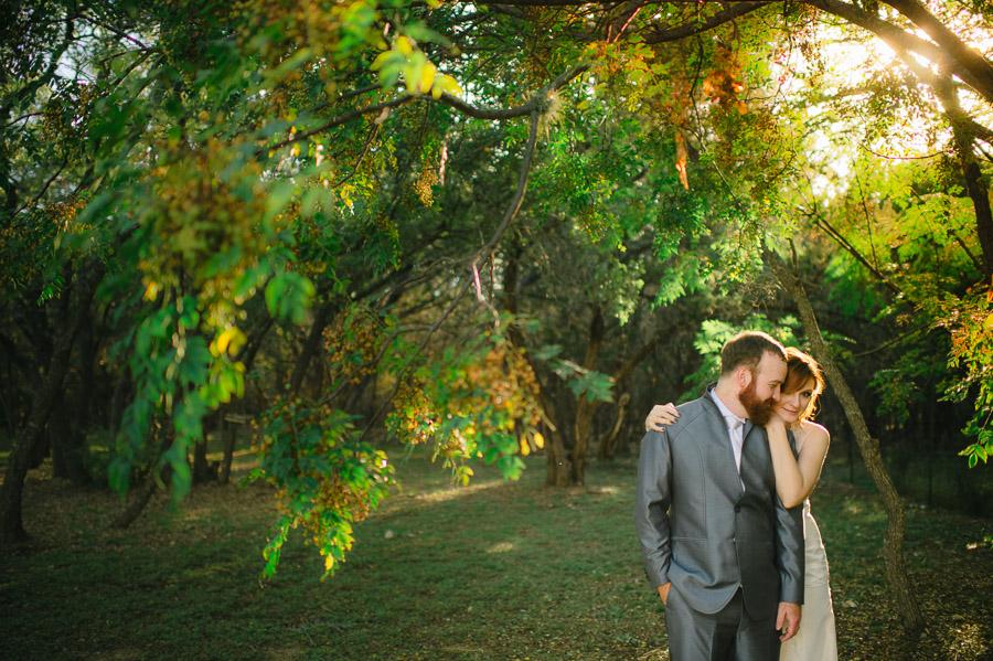 backyard austin wedding