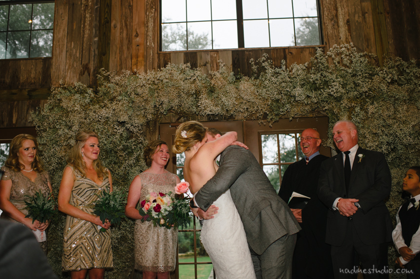 indoor vista west ranch wedding