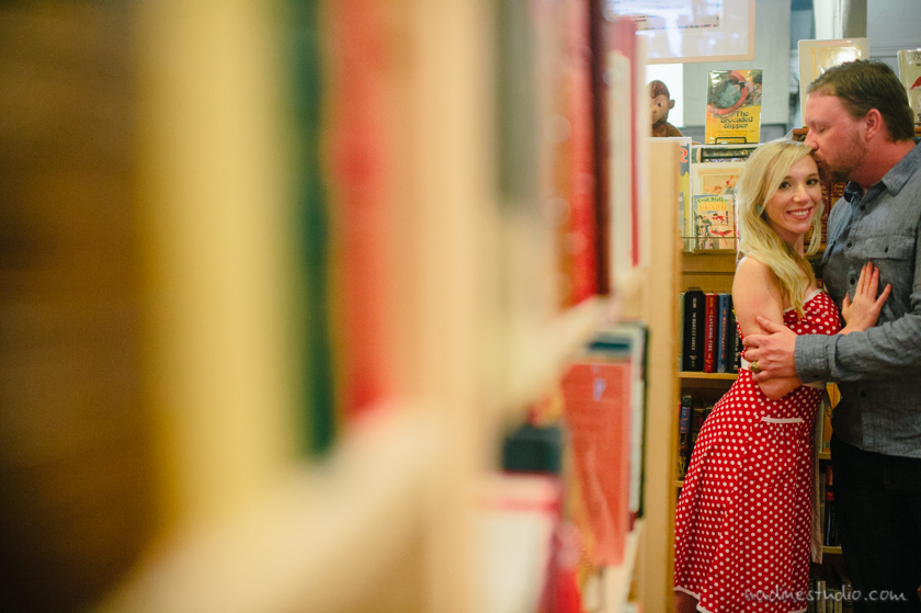 bookstore engagement