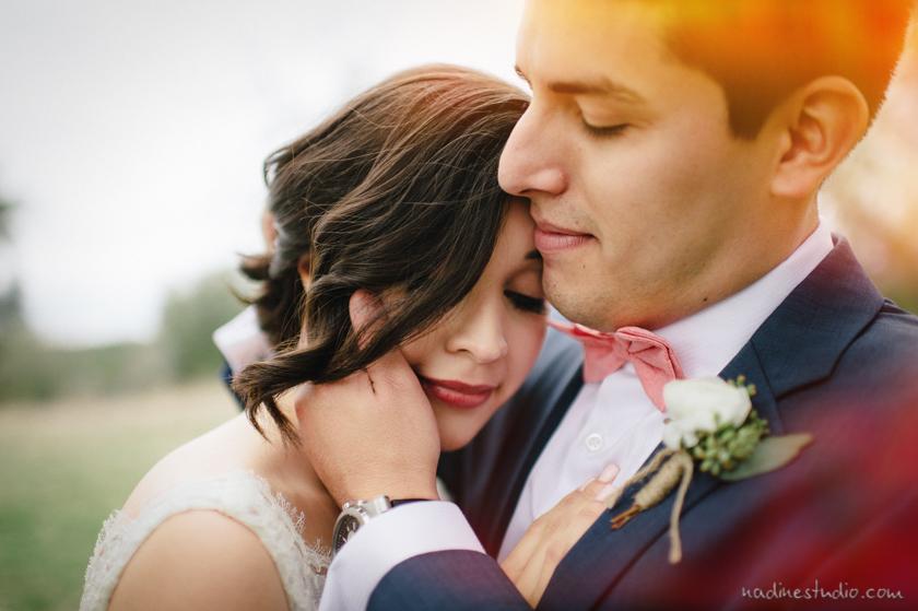 bride and groom vista west ranch