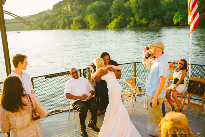 ceremony on the wedding