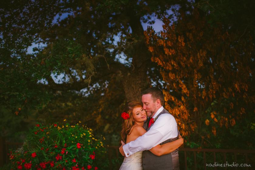 couple at dusk