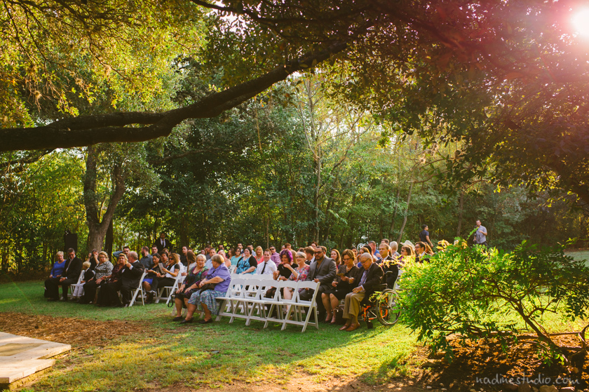 sun dappled time for ceremony