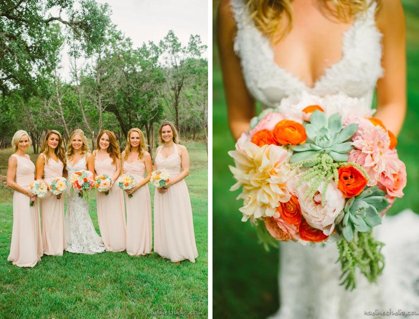 pastel fall wedding