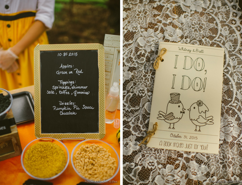coloring book for children at wedding