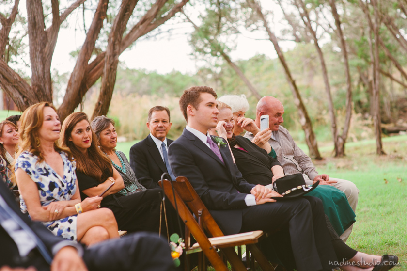 ceremony at rustic ranch kevin fowler