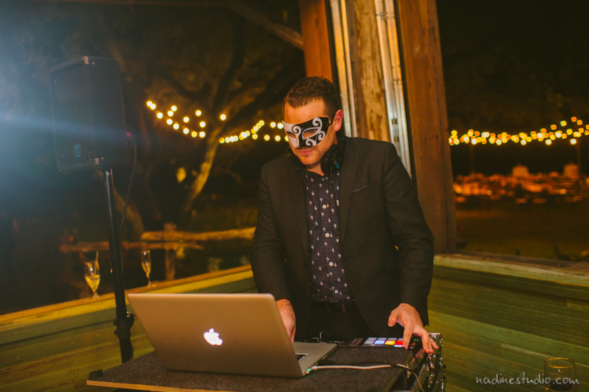 dj in a mask