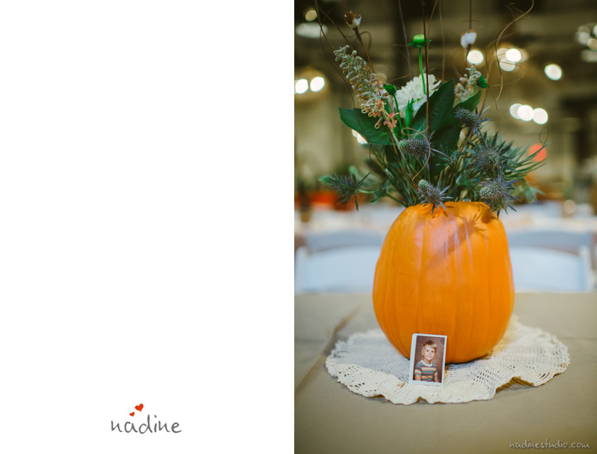 pumpkin or guard centerpiece