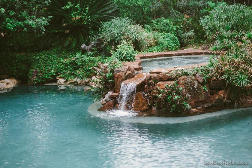 water fountain at hummingbird house