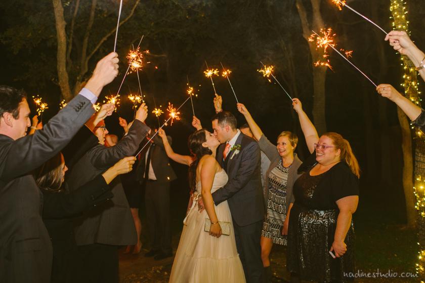 sparklers exit