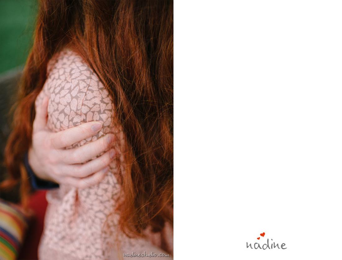 beautiful red hair bride