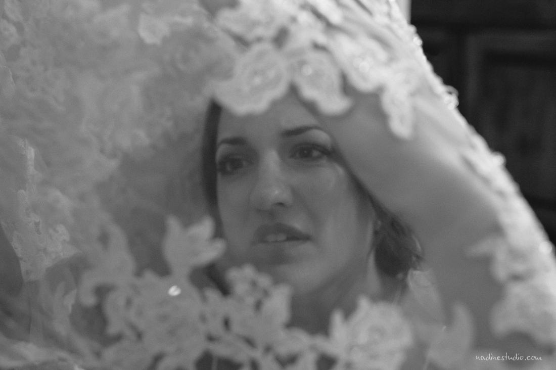 veil and bridal