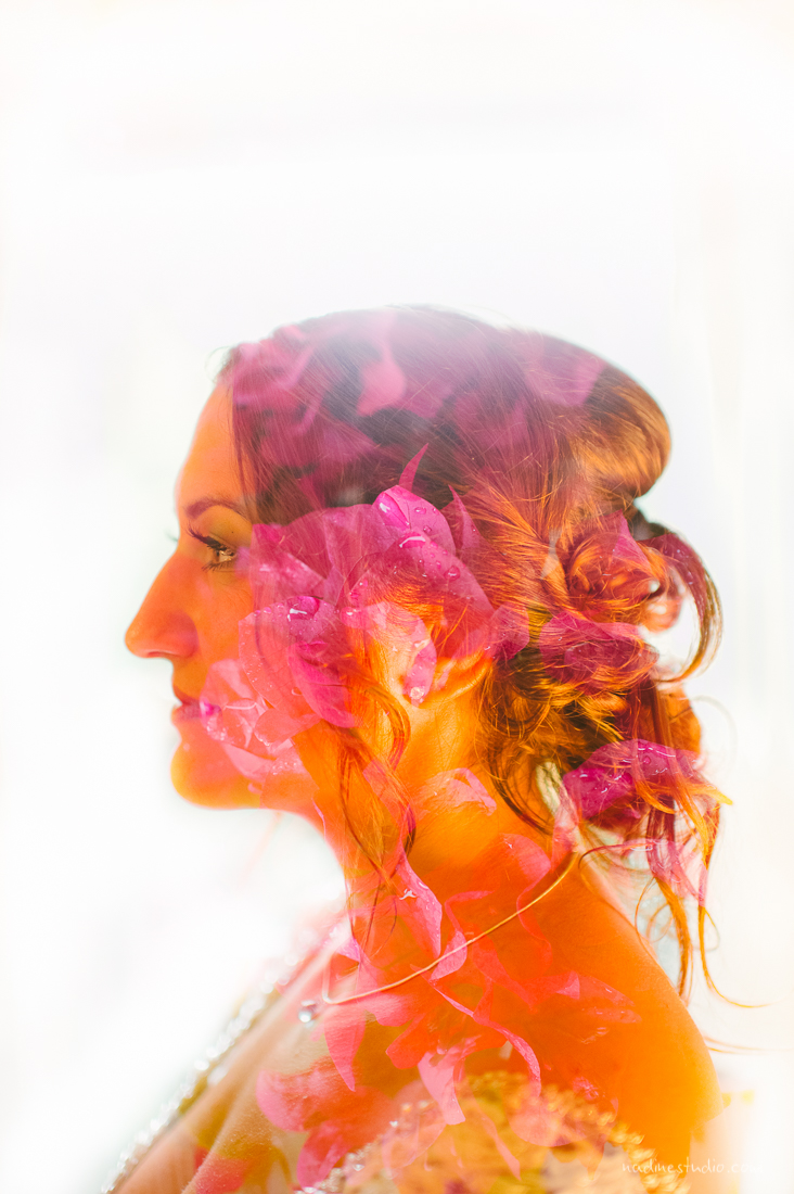 austin wedding photographers double exposure