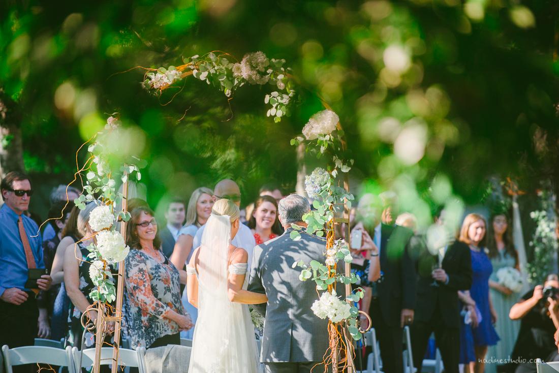 a garden wedding in the hill country of austin texas