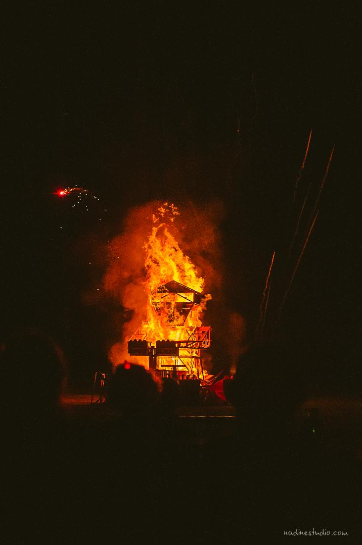 effigy burning flipside 2016
