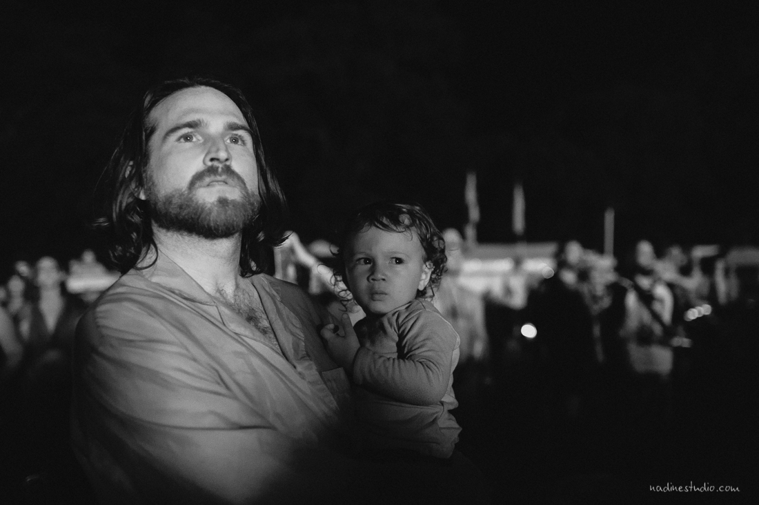 baby and daddy at burning flipside