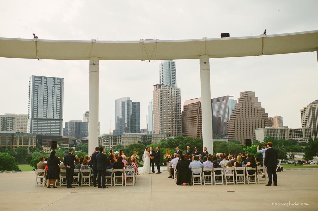 austin skyline wedding