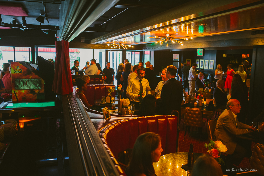 reception at the highball