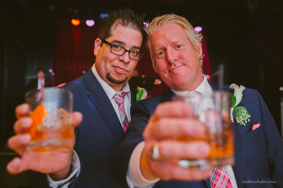 cheers to the groomsmen