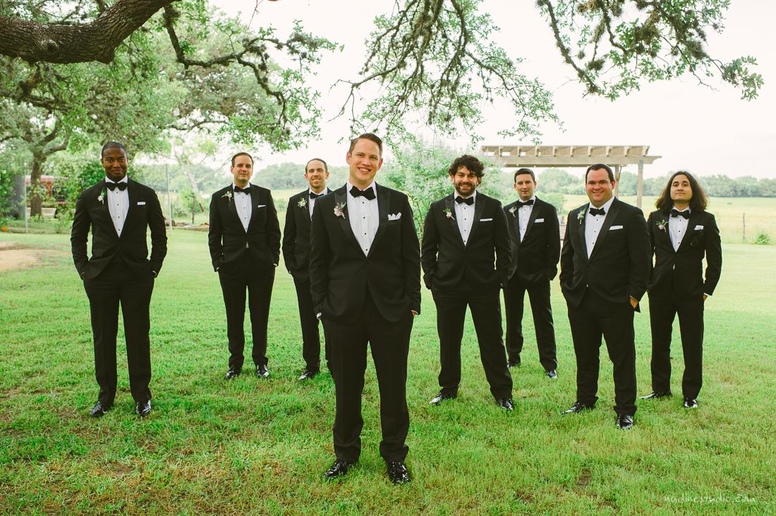 groomsmen looking dashing