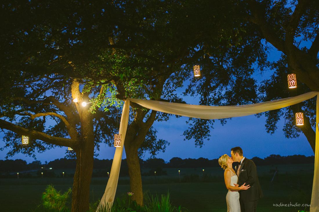 bride and groom stonehouse oak villa