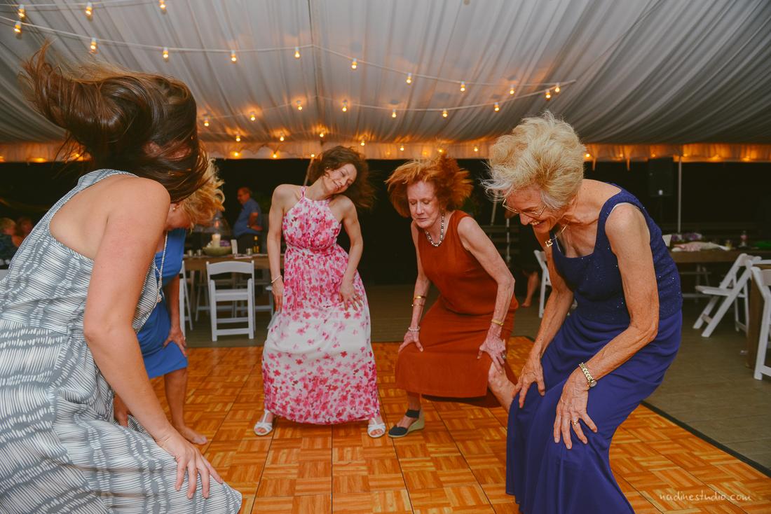 women dancing mothers of the bride dancing
