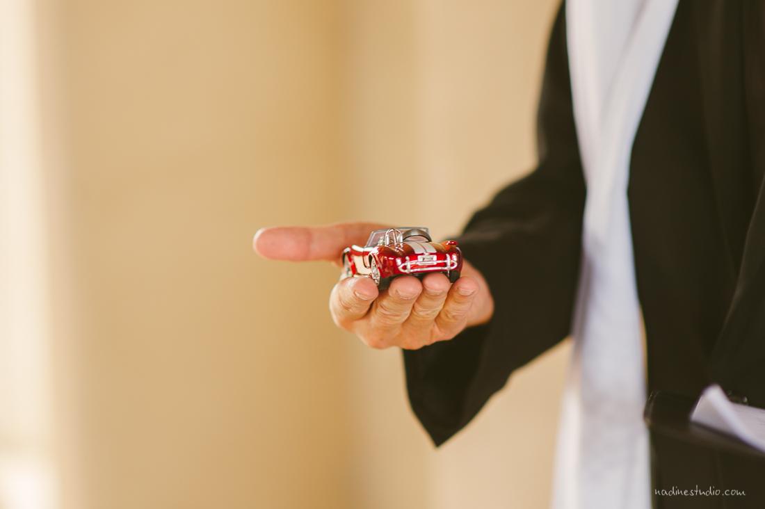 wedding rings in a car, car holder?