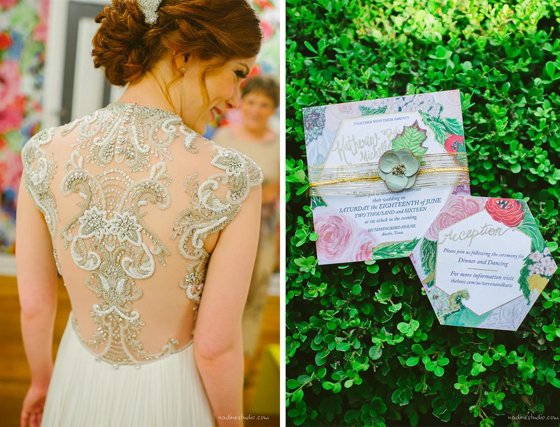 garden wedding invites