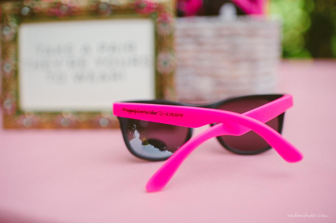 pink hot sunglasses