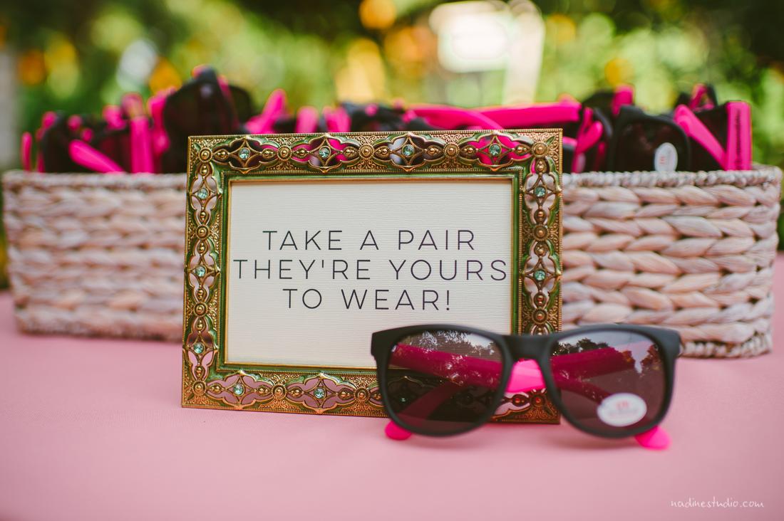 custom sunglasses for wedding