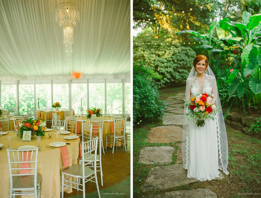 bride at hummingbird house