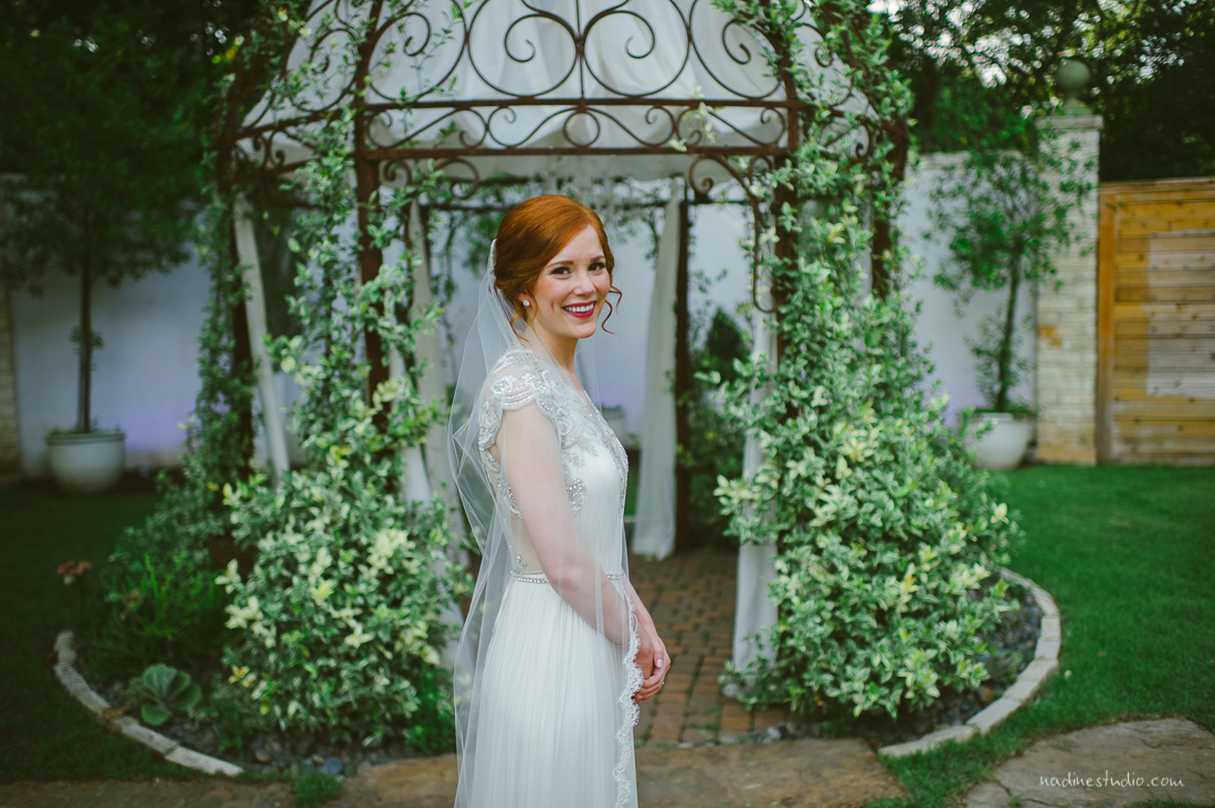 garden anthropologie bride