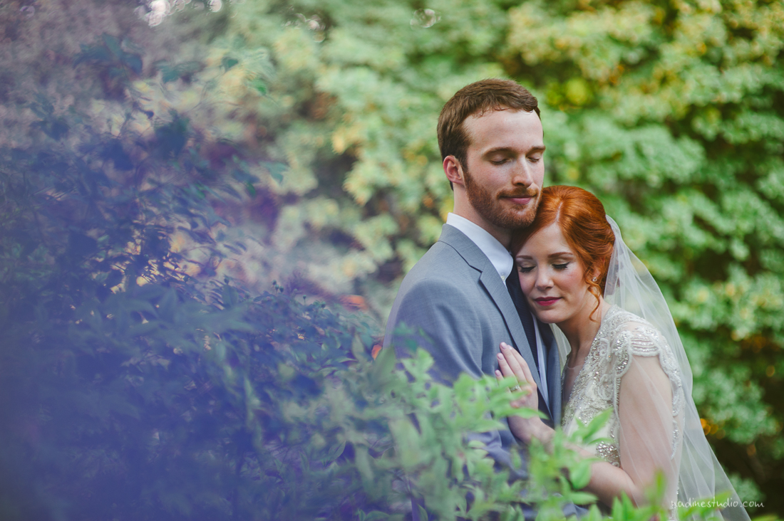 gorgeous portraits at sunset for an austin wedding
