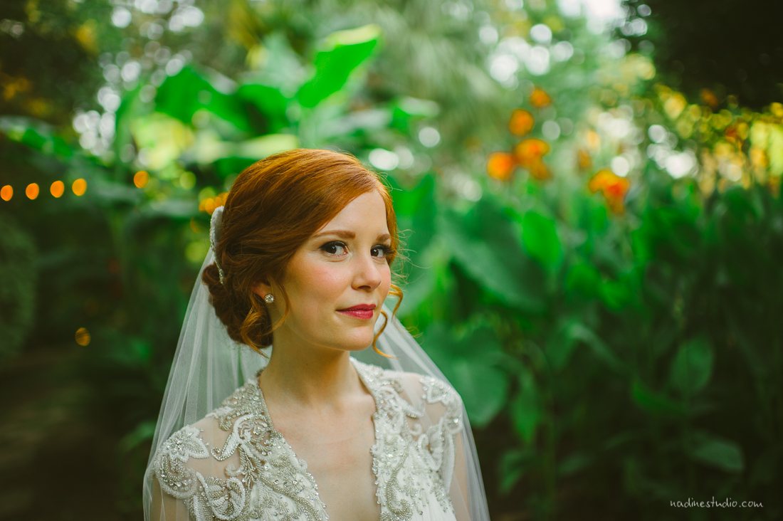 bride looking amazing