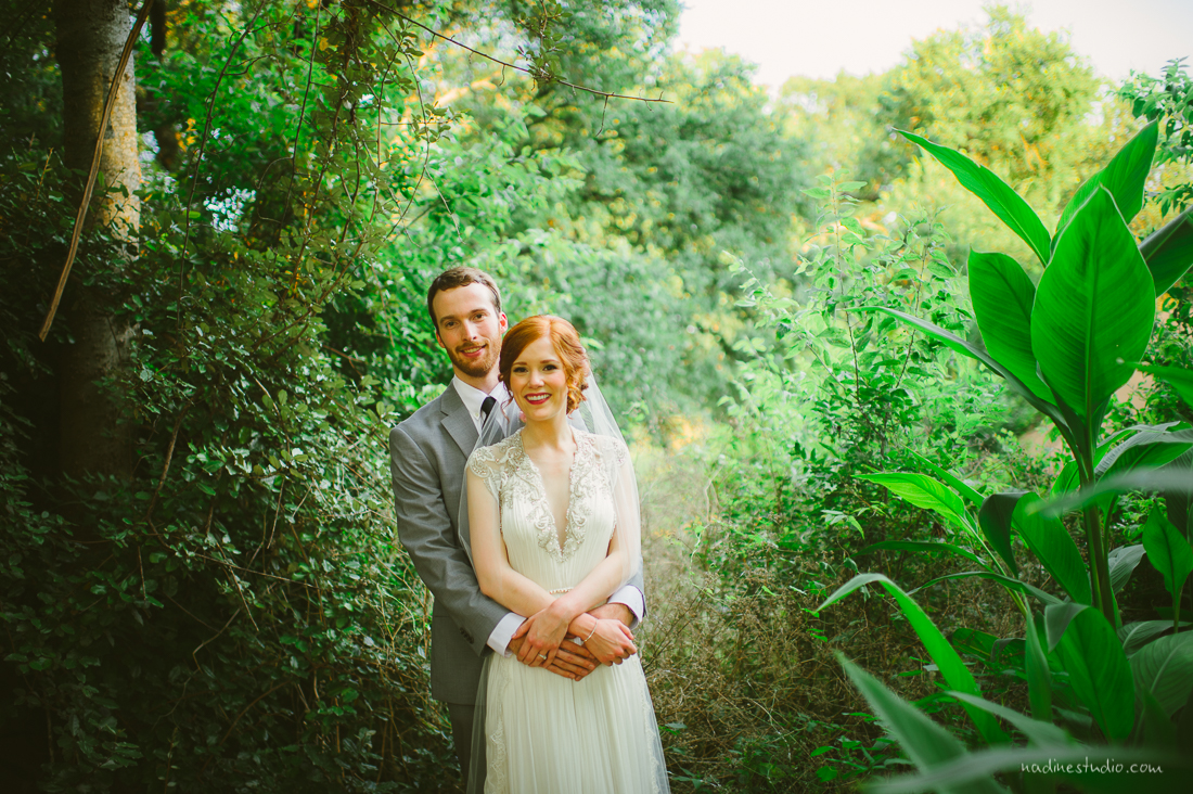 hummingbird house wedding portraits