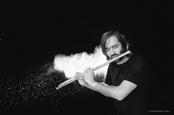 flautist music dynamic photography