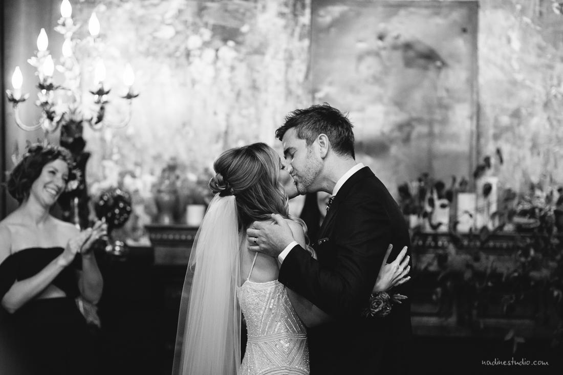 the kiss at palazzo lavaca