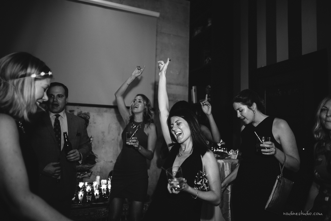 fun times at a reception