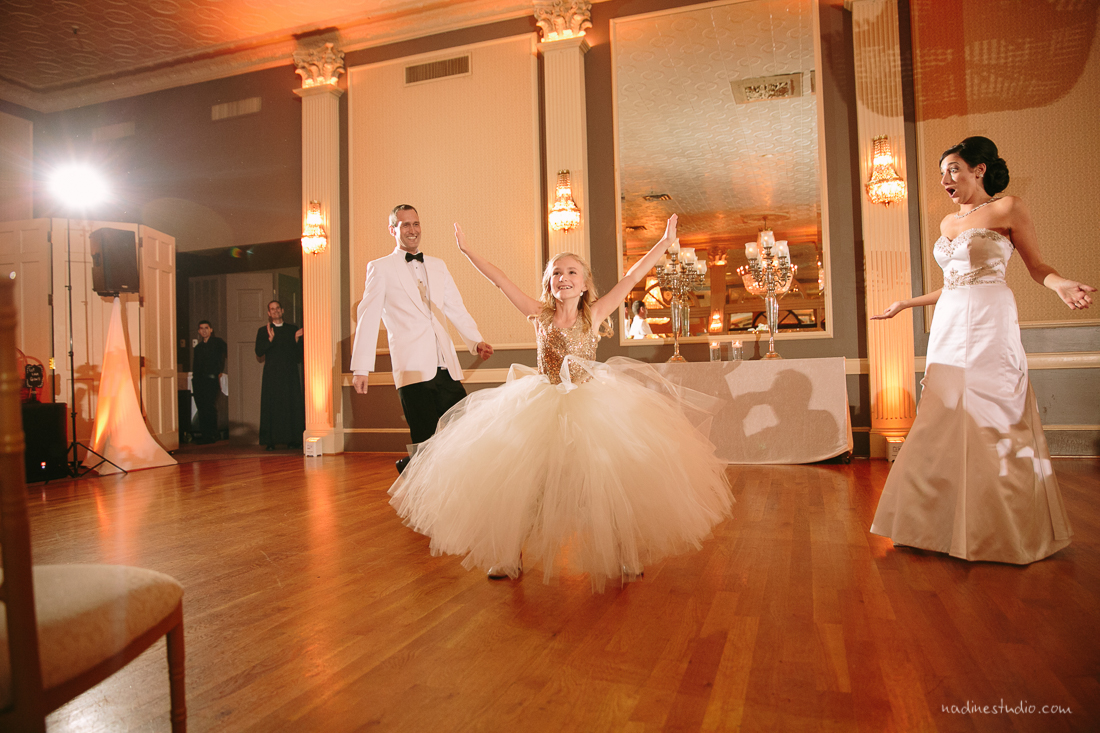first dance with parents and child