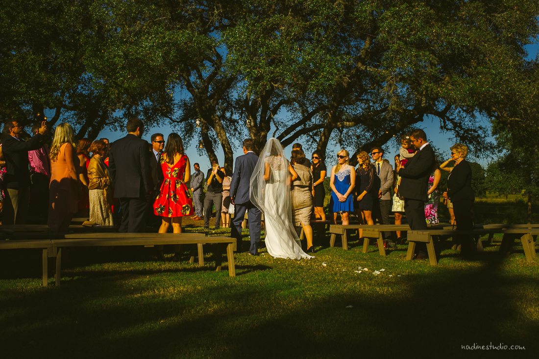 stone house villa driftwood wedding
