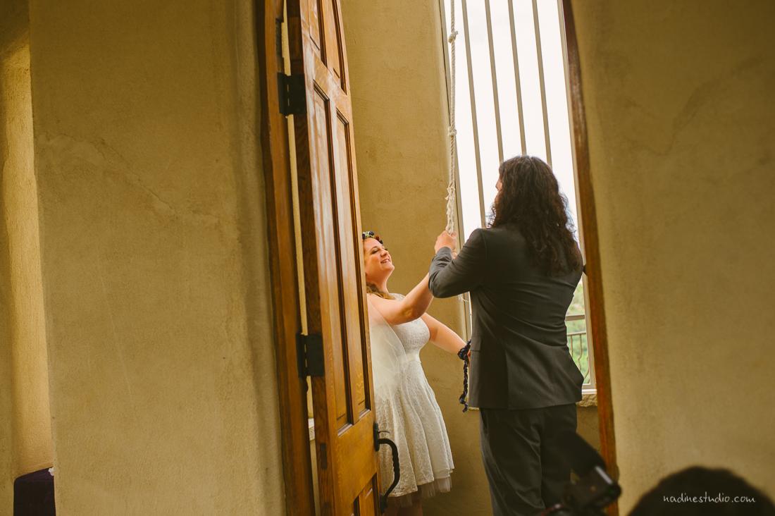 ringing the bells at chapel dulcinea