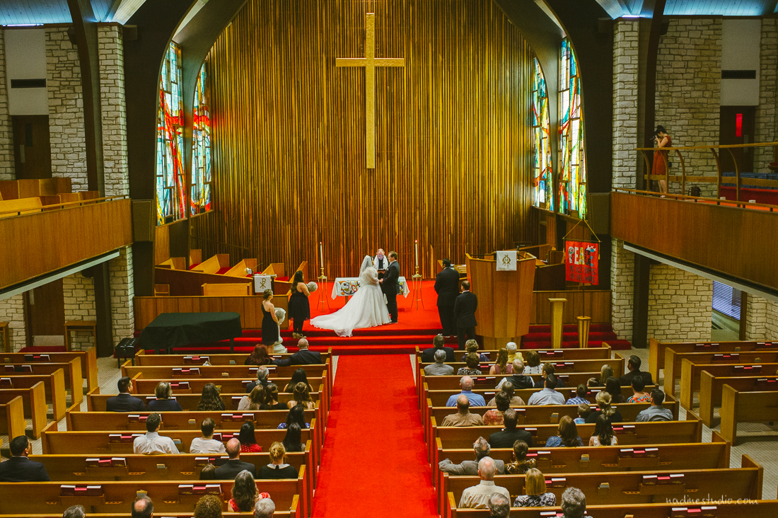 central presbyterian church wedding ceremony