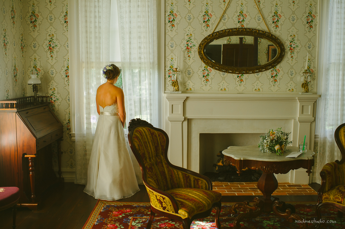 bride waiting