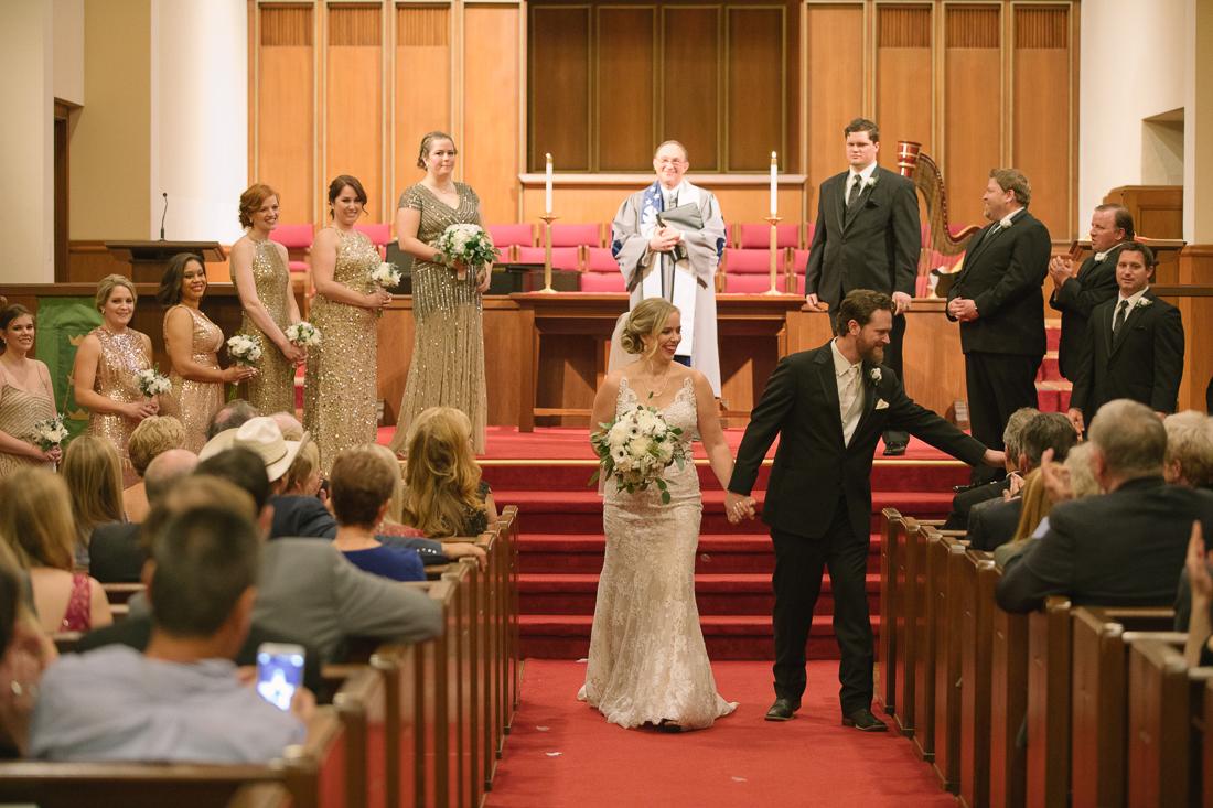 university christian church ceremony