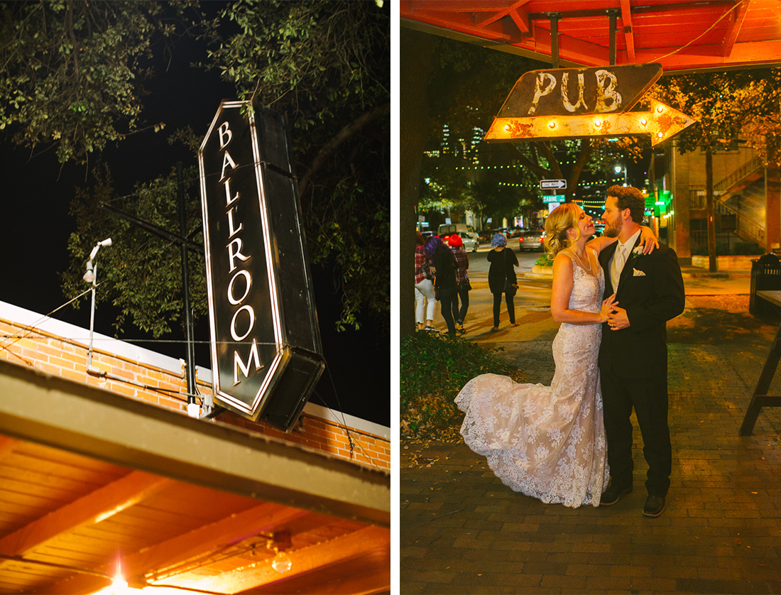waller creek wedding on sixth street downtown