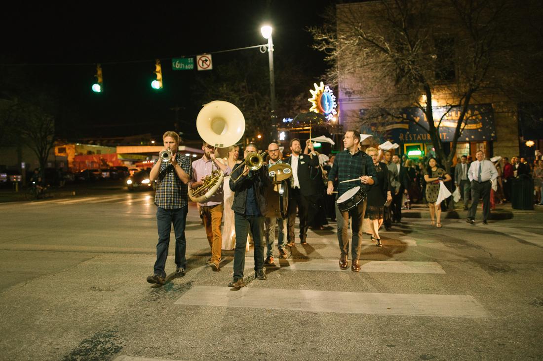 mardi gras mainline and second line parade