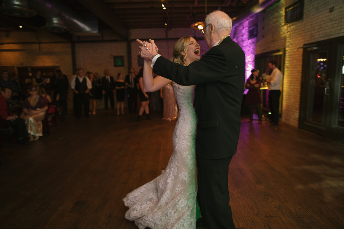 father daughter dance at aller creek