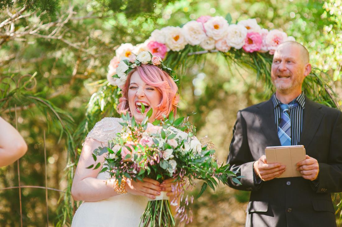 improv wedding