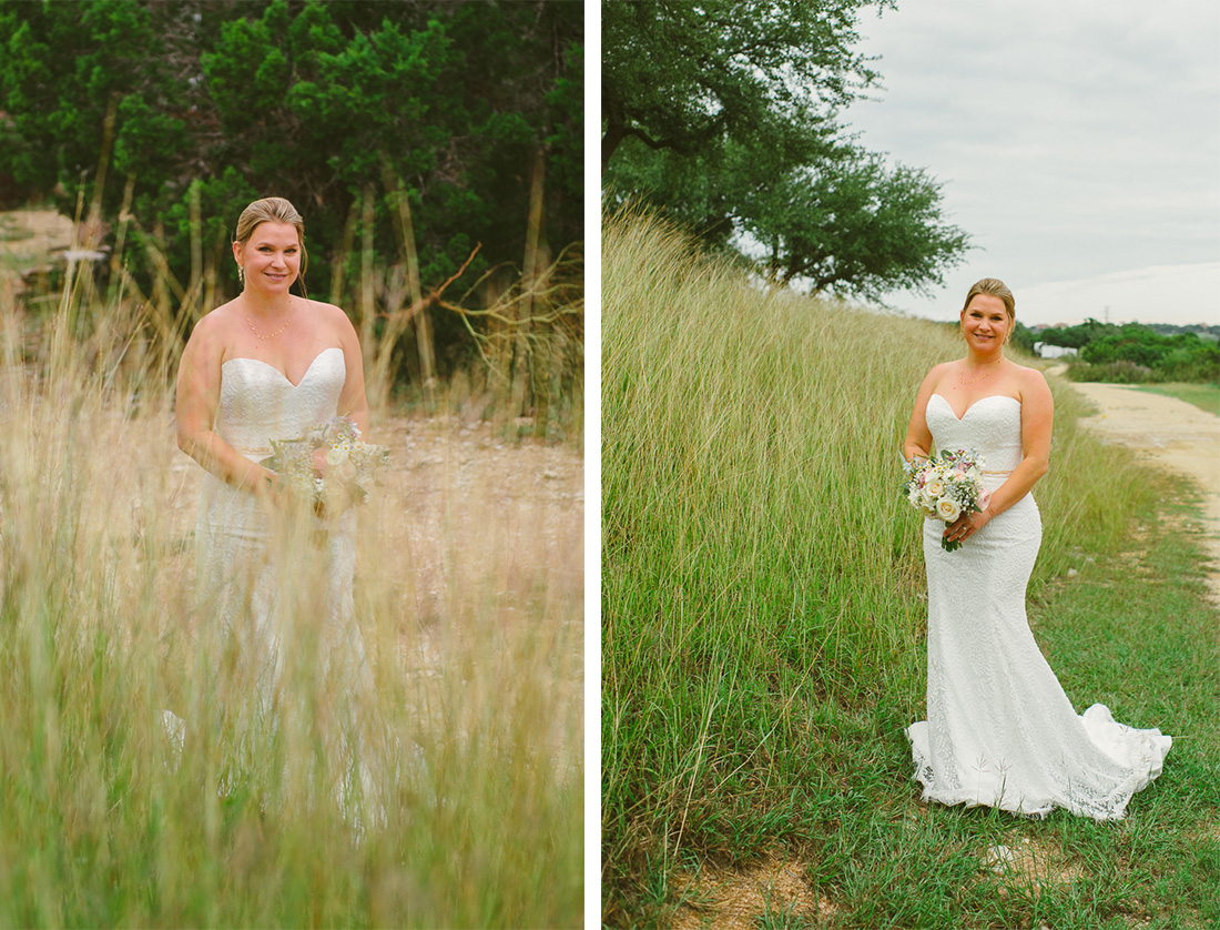 grassy plains bridal portraits