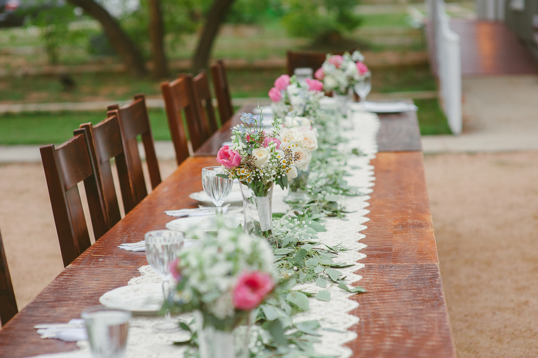 beautiful long table runner
